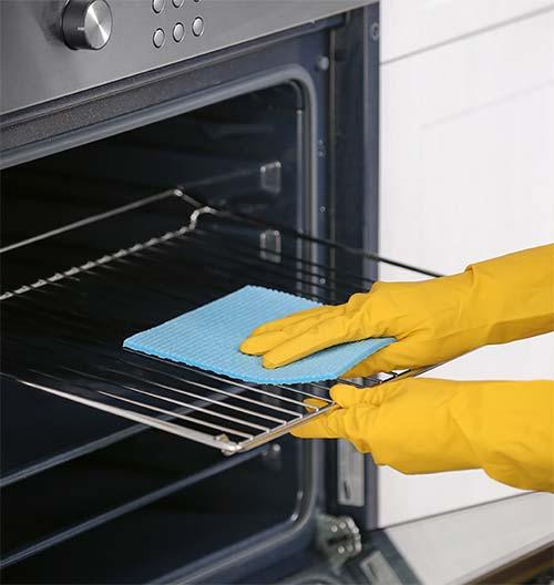 oven rack clean