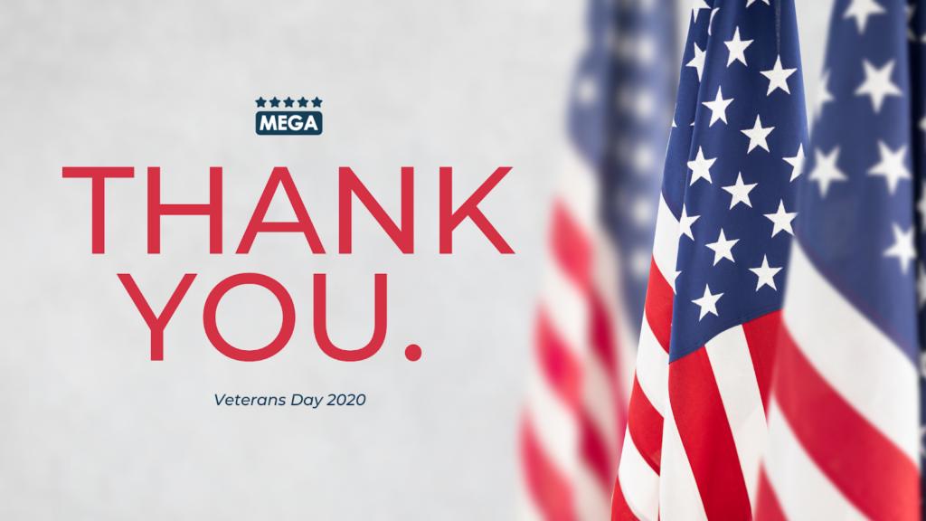 Mega Service Solutions - Veterans Day 2020