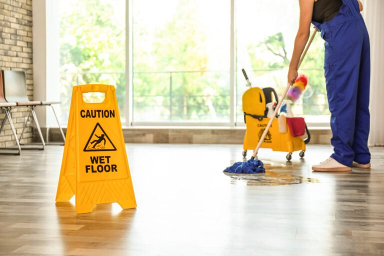 Commercial janitorial company